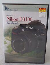 Blue Crane Digital Instructional DVD, Nikon D3100 basic controls