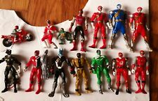 Bandai Power Rangers Action Figure Lot 2000-2005 Spin Morphin Doggy Kruger SPD