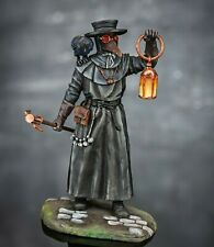 Resin Figure Kit Plague Doctor 1:24 scale 75mm  Toy Soldiers