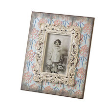 """Vintage Style Floral Standing Photo Frame - 4x6"""" - Home Decoration Gift"""