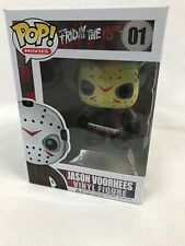 Pop! Movies Friday The 13th Jason Voorhees Vinyl Figure 01, New in Box