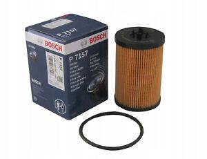 Genuine BOSCH Oil Filter - F026407157 P7157 - Audi Seat Skoda VW - 1.6 & 2.0 TDi