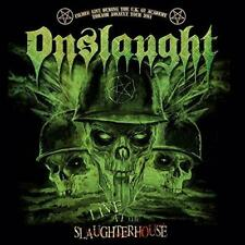 Onslaught - Live At The Slaughterhouse (NEW CD+DVD)