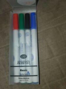 Creative Memories BRIGHT Round-Tip Pens Purple Brown orange pink (New)