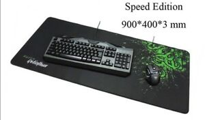 Super Large Razer Goliathus Gaming Mouse Pad Mat Speed Edition Size 900*400*