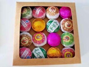 Chinese Tea Blooming Flowering Pu erh Puerh Jasmine Green Detox Herb Gift Box UK