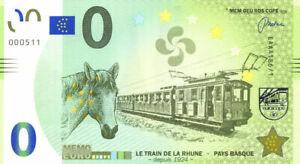 64 SARE Le train de la Rhune, 2021, Memo Euro Scope
