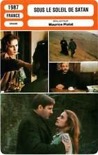 FICHE CINEMA : SOUS LE SOLEIL DE SATAN - Depardieu,Bonnaire,Pialat 1987