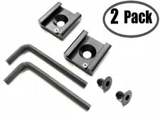 """Cold Shoe Mount Adapter Bracket Standard Hot Shoe Type with 1/4"""" Thread 2-Pack"""