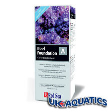 Red Sea Reef Foundation A 500ml Calcium and Strontium Coral Supplement Marine