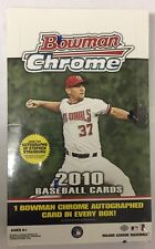 2010 Bowman Chrome Baseball Box Factory Sealed Hobby Stanton Rookie?