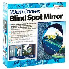 30 cm Convexo Espejo coche de seguridad de seguridad garaje entrada al aire libre punto ciego doblar