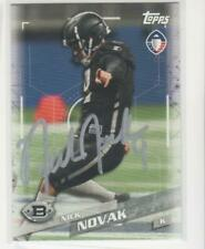 NICK NOVAK LOS ANGELES WILDCATS MARYLAND UNIVERSITY AUTOGRAPHED CARD