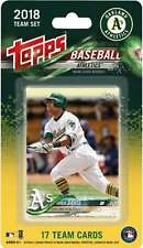2018 Topps Baseball Factory Oakland Athletics Team Set of 17 Cards