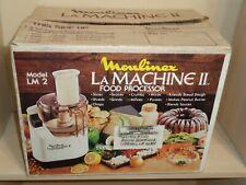Moulinex LA Machine II Food Processor model LM2 w/ instructions - New In Box