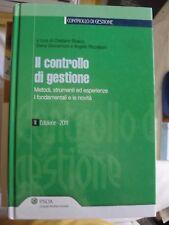 AA.VV. IL CONTROLLO DI GESTIONE metodi strumenti etc. 2° ed. IPSOA 2011