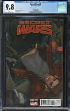 SECRET WARS (2015) #6 Tarr Variant Cover CGC 9.8 - Only 3 9.8s on the CGC census