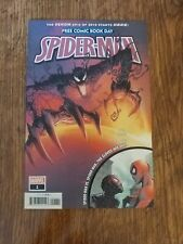Spider-Man 1. FCBD 2019. NM+. 9.6. Donny Cates and Ryan Stegman pencils/cover.