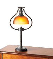 Table Lamps For Living Room Antique Bronze Finishes Light Amber Glass Shades