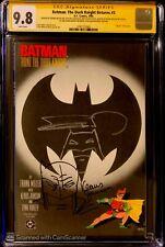 Batman The Dark Knight Returns 2 CGC 9.8 SS Sketch  FRANK MILLER Klaus Janson