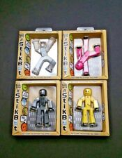 "StikBot Poseable 3"" Action Figures Assorted Colors Create and Animate Age 4+"