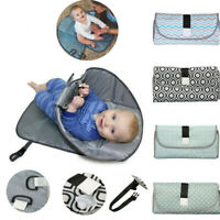 Newborns Portable Foldable Waterproof Baby Diaper Change Mat Travel Changing Pad