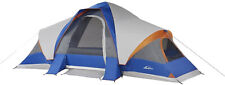 Big 8-Person 3-Room Cabin Tent with Large Sun Canopy Windows Outdoor Camping New