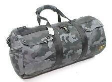 Polo Ralph Lauren Camouflage Camo Printed Military Duffel Gym Travel Bag New