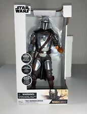"Disney Store THE MANDALORIAN Talking Action Figure 15"" H Star Wars NEW NIB 2020"