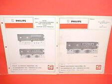1971 DODGE PICKUP TRUCK CREW CAB 4x4 SWEPTLINE PHILIPS AM RADIO SERVICE MANUAL