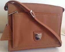 L. Credi Borsa a mano, cognac. (GUARNIZIONE Leather man/woman Professional) RRP £ 125