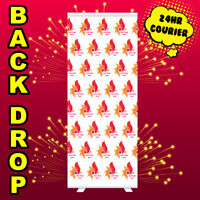 Roller Banner Bespoke Logo Printed Back Drop Pull Pop UP banner Exhibition Stand