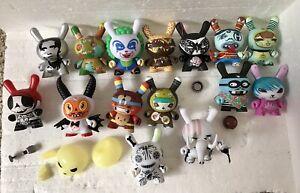 Kidrobot dunny lot designer vinyl urban art toys Figures