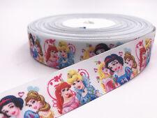 New 5 yards 1 inch 25mm print Anime characters bow Ribbon Christmas Craft Ribbon
