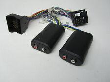 VW Opel Quadlockkabelsatz 1:1 für High Low Adapter original Radio Remote 4 Cinch