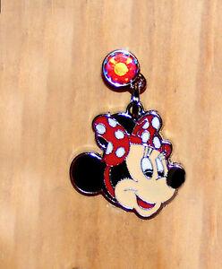 minnie mouse pok a dot Bow cell  phone charm jewelry plug  anti-dust