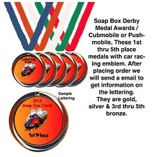 Soap Box Derby Trophy Award / Cubmobile / Pushmobile