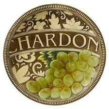 Grasslands Road - In Vino Veritas - Chardonnay Accent Plate - 469460