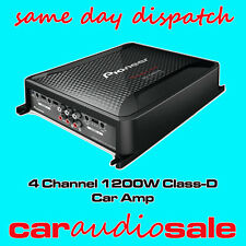 PIONEER GM-D8604 CLASSE D 1200 WATT 4 / 1 / 2 Channel bridgeable POWER AMPLIFIER