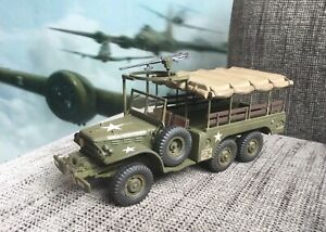 1/35 Built/Painted US Dodge 1/2 ton 6x6 Cargo Truck WC62 WW2