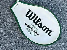 Wilson World Class Tennis Racquet Cover – Made in Usa