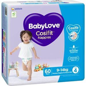 BabyLove Jumbo Cosifit Nappies Toddler 60