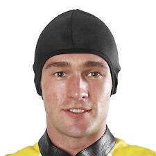 EDZ Allwetter Sport Unterhemd Helm Innenfutter /Käppchen Schwarz