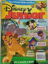 Disney Junior Jan Feb 2017 Mickey Mouse Stories Puzzles Games FREE SHIPPING sb