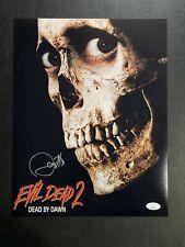 Danny Hicks Autographed Evil Dead 2 11X14 Photo W/ JSA COA
