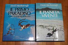 """DAVID ATTENBOROUGH """"Il pianeta vivente"""" + """"Il primo paradiso"""""""