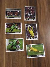 Panini Euro 2012 Coca Cola Manuel Neuer Heldentaten 1-6 Komplett