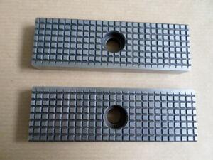 Allmatic Maschinenschraubstock neue Schraubstockbacken HD125