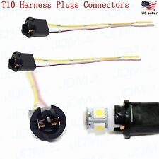 JDM ASTAR 2pc T10 Harness Plug Connector wiring sockets 168 194 2825 175 W5W 192