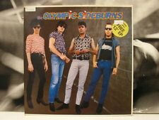 """OLYMPIC SIDEBURNS - S/T SAME LP + 12"""" NM FRANCE 1985 NEW ROSE 60 + FREE 5"""